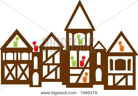 die niederländischen Häuser