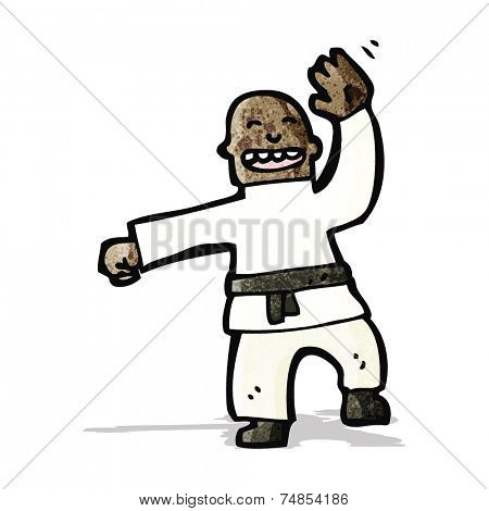 cartoon judo chop