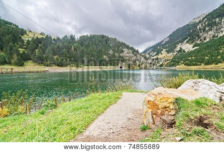 Reservoir Of Vall De Nuria