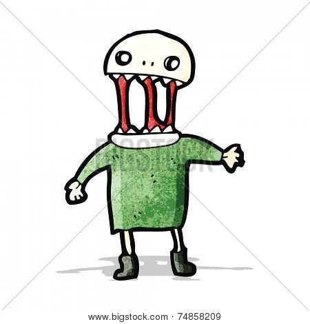 spooky halloween ghoul