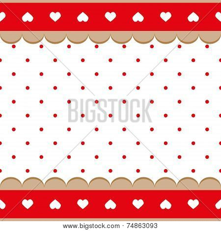 Seamless Background In The Small Circle Polka Dots