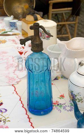 Old Bottle Of Soda Water