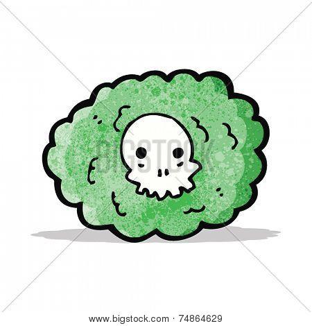 cartoon death gas cloud
