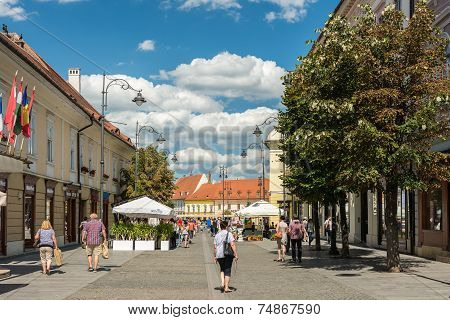 The Main Square Of Sibiu