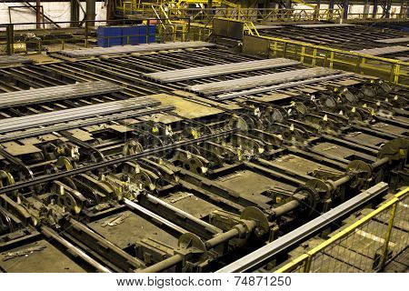 Rolled steel products.