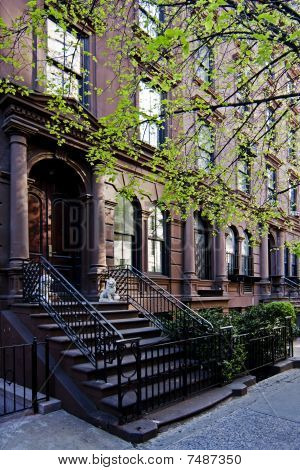 Brownstone Townhouse