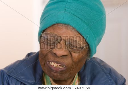 African American Senior Citizen Woman