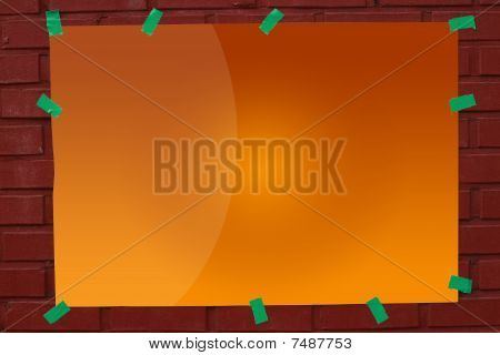 Blank Advertisement
