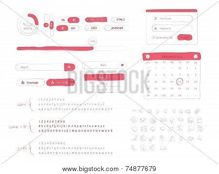 Doodle UI Kit