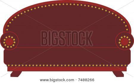 Cartoon Leather Sofa