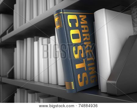 Marketing Costs - Title of Book.