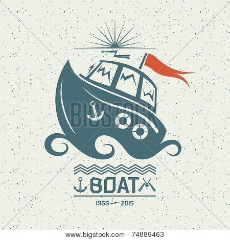 Brave Small Boat