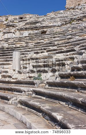 Seats At Miletus Amphitheater