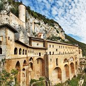 stock photo of benediction  - Monastery of St - JPG