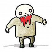 pic of ghoul  - spooky halloween ghoul - JPG