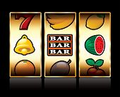 picture of slot-machine  - vector icons at slot machine - JPG