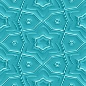 stock photo of mayan  - Mayan ornaments seamless hires generated texture or background - JPG