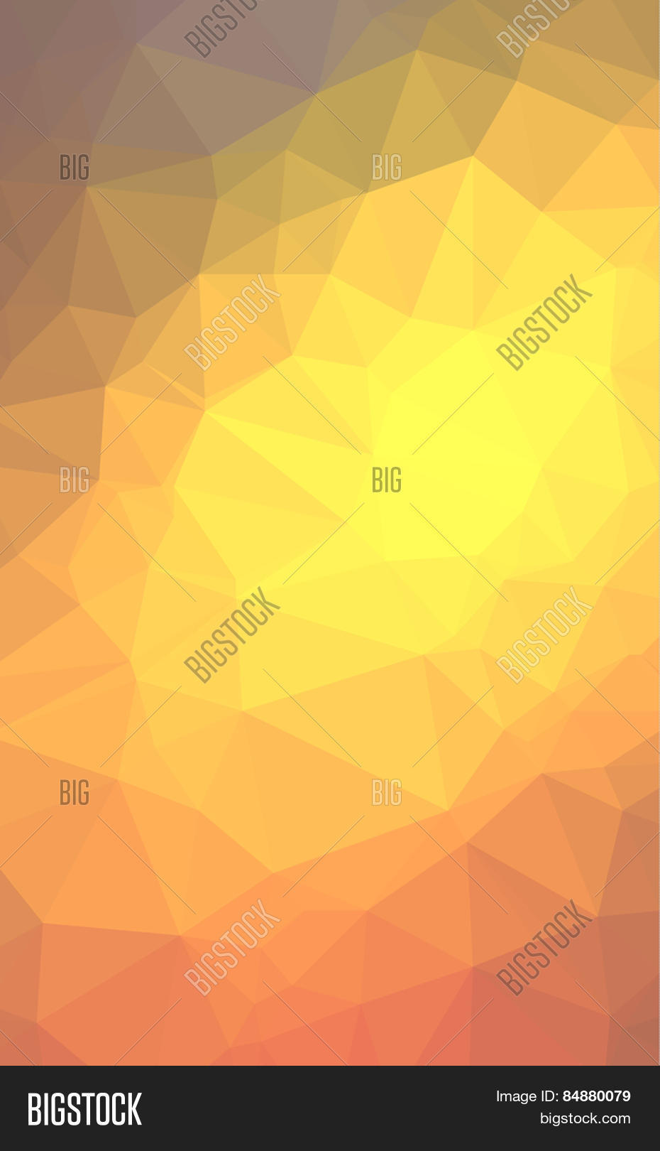 Low poly geometric abstract backgroud for brochure layout flyer