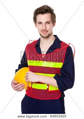 Foreman hold with hardhat