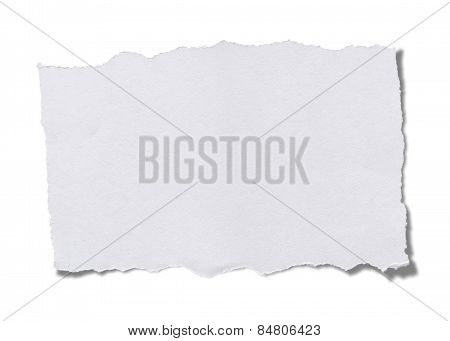 Torn Piece Of Paper