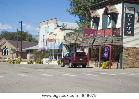 old fashioned main street
