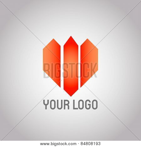 Real Estate Vector Logo Design Template. Realty Abstract Symbol. Business Corporate Sign. Financial