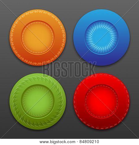 vector  web buttons