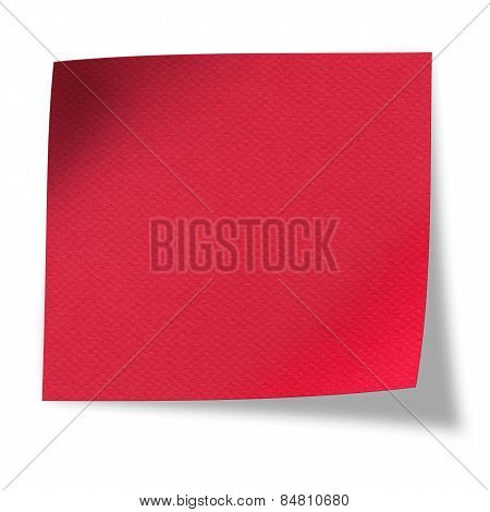 Textured Blank Red Paper