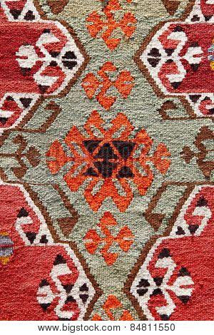 Close-up Turkish Rug