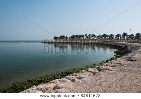 Boardwalk In Al Khobar, Saudi Arabia