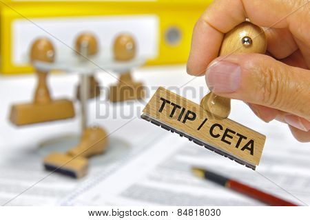 CETA and TTIP Transatlantic trade and investment partnership