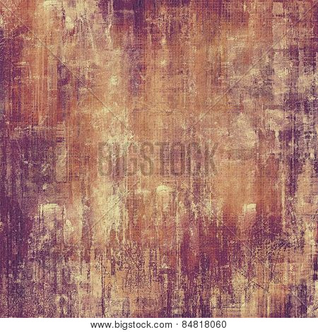 Grunge colorful texture for retro background. With different color patterns: yellow (beige); brown; gray; purple (violet)