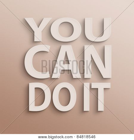 text on the wall or paper, you can do it