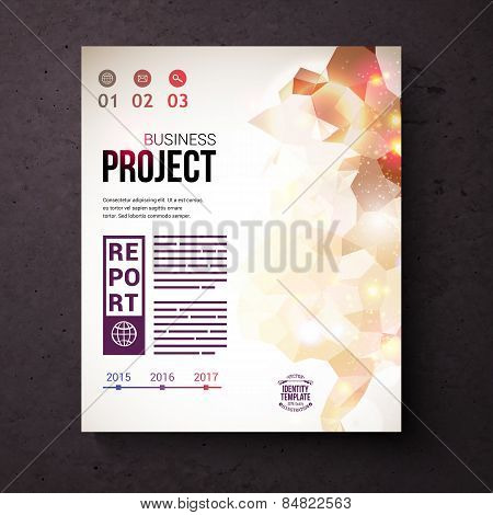 Identity Template for Business Project Concept