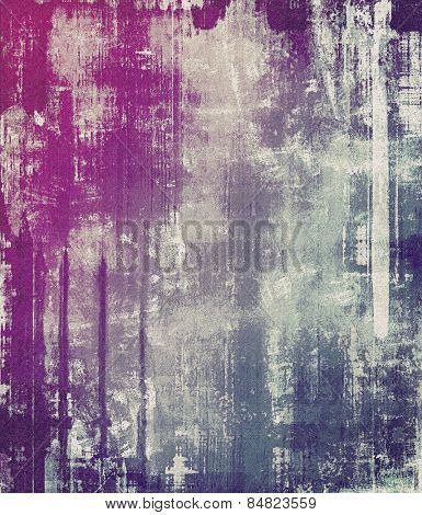 Art grunge vintage textured background. With different color patterns: gray; purple (violet); blue; pink