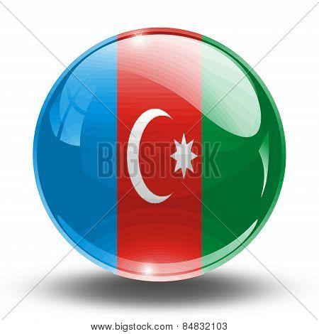 3D, crystal sphere West Azerbaijan