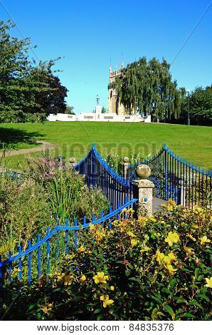 Abbey Park, Evesham.