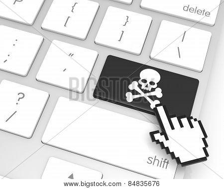 Skeleton Enter Key