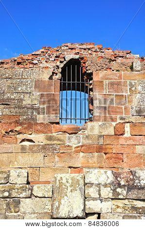 Stafford castle window.