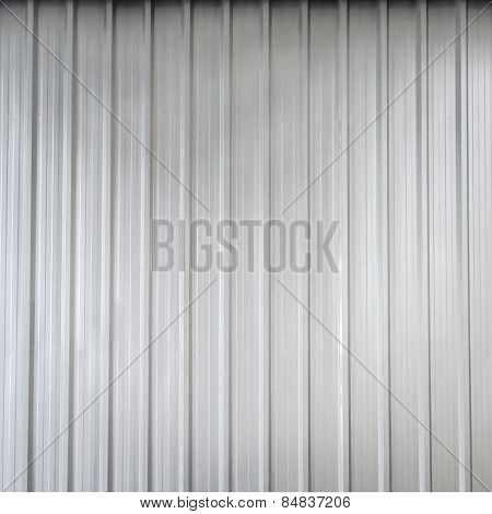 Silver Galvanized Iron Background