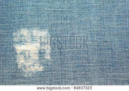 Jean Inside Texture