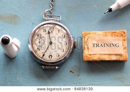 Training Concept, Vintage.