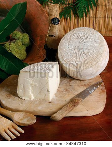selection of italian cheese