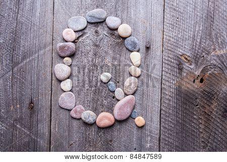 Stone Alphabet - Q