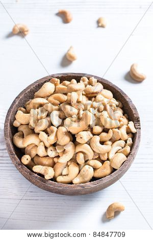 Cashew Nuts In Bowl
