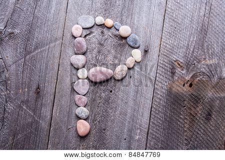 Stone Alphabet - P