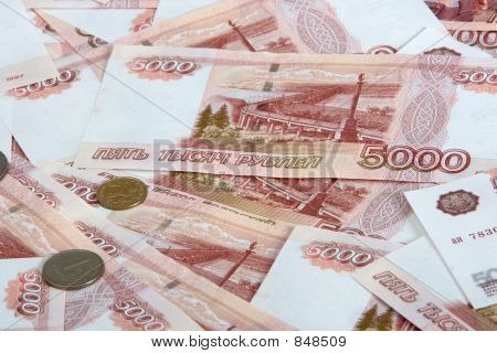 one rouble and five thousands