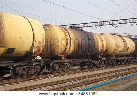 Oil Tanker Cars