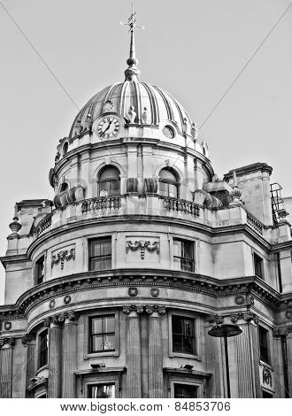 Typical Victorian architecture seen in London, England