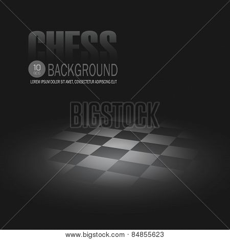 Chessboard. Vector background